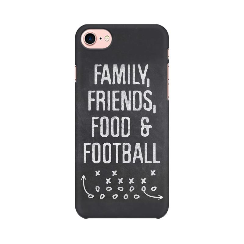 Family Friends Food Football Phone Case[Available For 90+ Phone Models] Phone Case printrove Apple iPhone 7