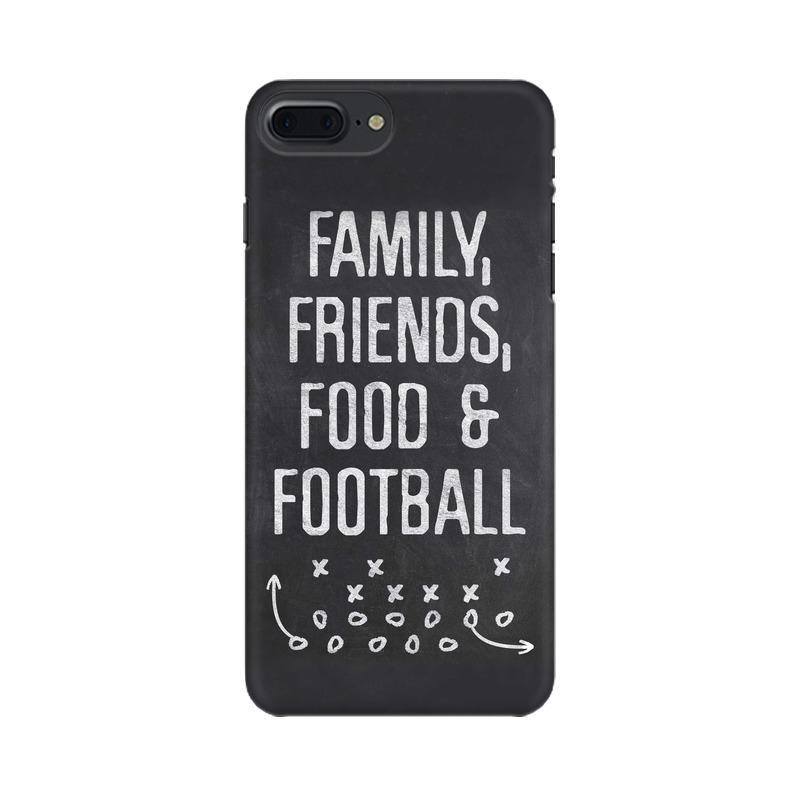 Family Friends Food Football Phone Case[Available For 90+ Phone Models] Phone Case printrove Apple iPhone 7 Plus