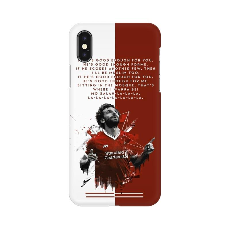 Mo Salah Phone Case[Available For 90+ Phone Models] Phone Case printrove Apple iPhone X
