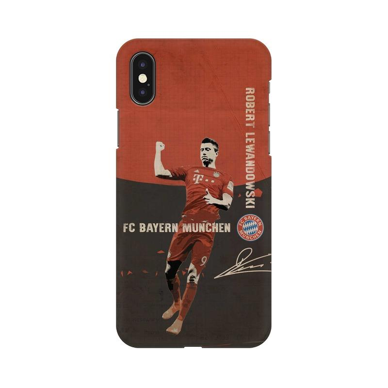 Lewandowski Bayern Phone Case[Available For 90+ Phone Models] Phone Case printrove Apple iPhone X
