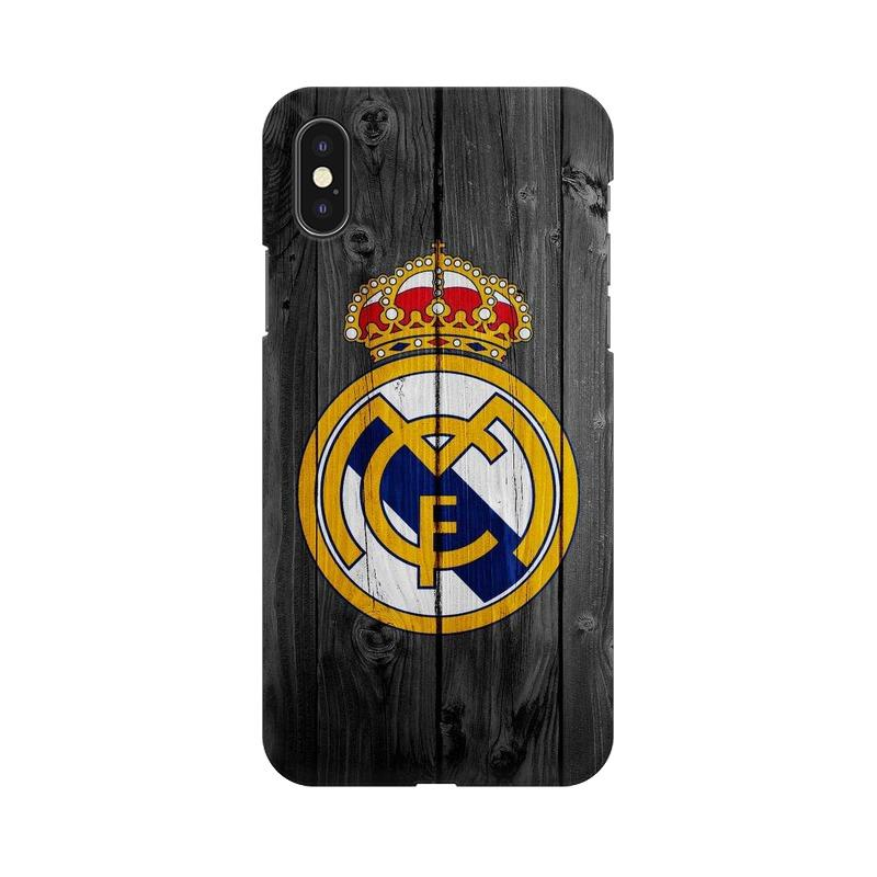 Real Madrid Phone Case[Available For 90+ Phone Models] Phone Case printrove Apple iPhone X
