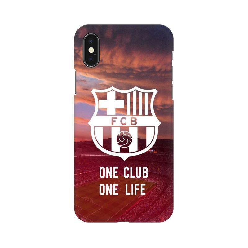 Barcelona One Club One Life Phone Case[Available For 90+ Phone Models] Phone Case printrove Apple iPhone X