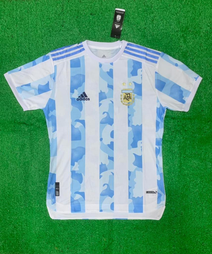 Argentina PLAYER VERSION National Team 2021 Home Jersey