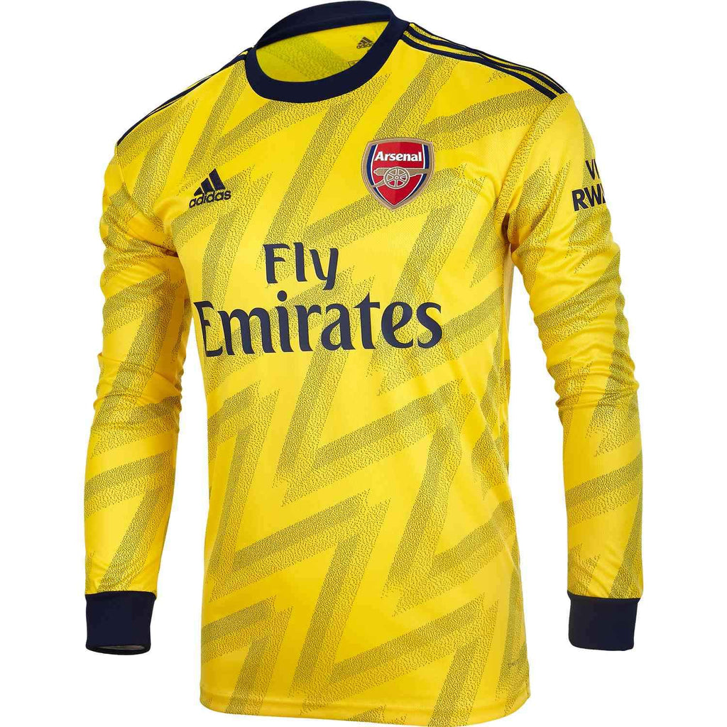 Arsenal Jersey Away FULL SLEEVE 19 20 Season [Sale Item] Jersey_NS sportifynow