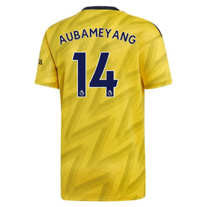 Arsenal Aubameyang 14 Football Jersey Away 19 20 Season [Sale Item] Jersey_NS sportifynow