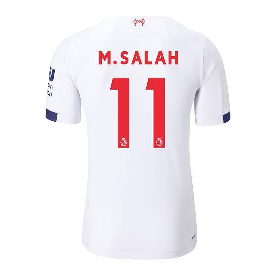 Liverpool SALAH 11 Football Jersey Away 19 20 Season [Sale Item] Jersey_NS sportifynow