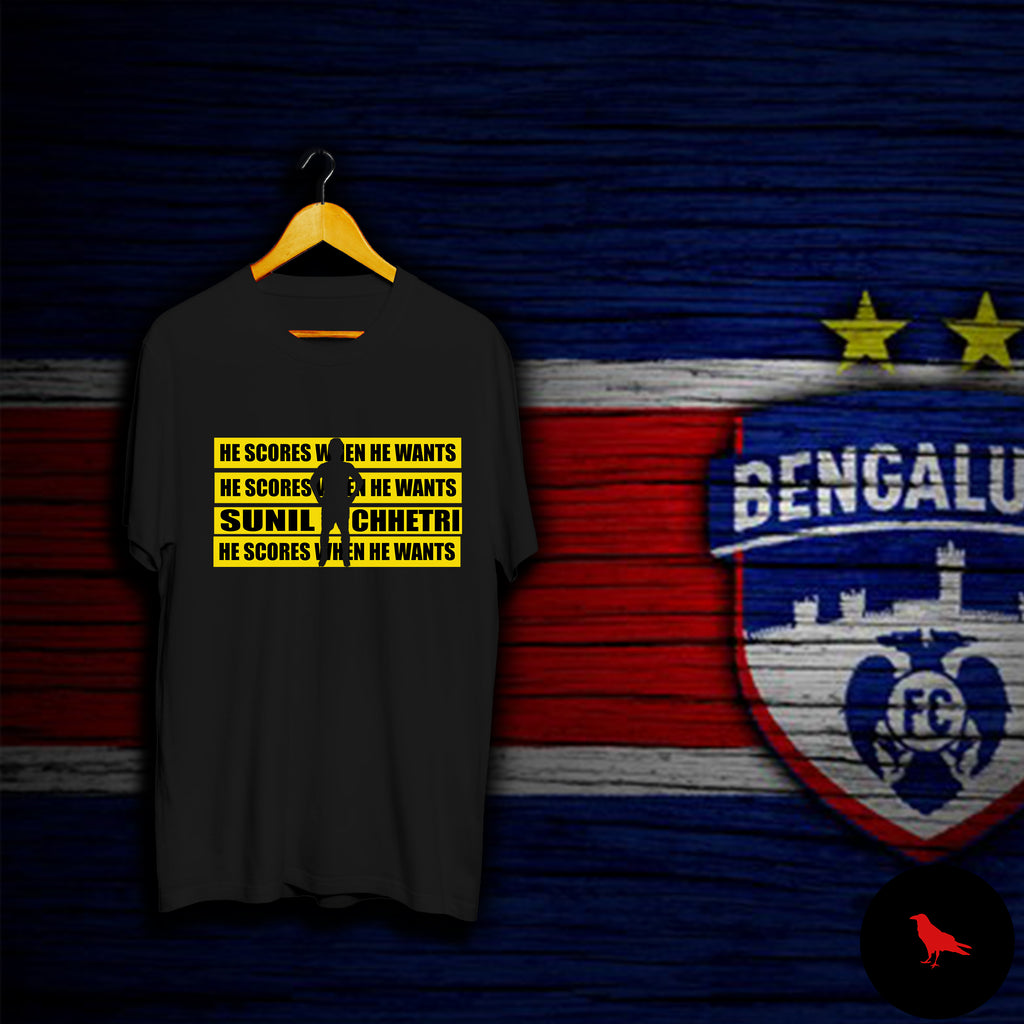 SUNIL CHHETRI Football T Shirt
