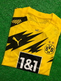 Borussia Dortmund PLAYER VERSION Football Jersey Home 20 21 Season