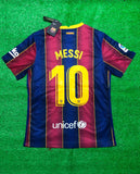 Barcelona MESSI 10 Football Jersey Home 20 21 Season [Sale Item]