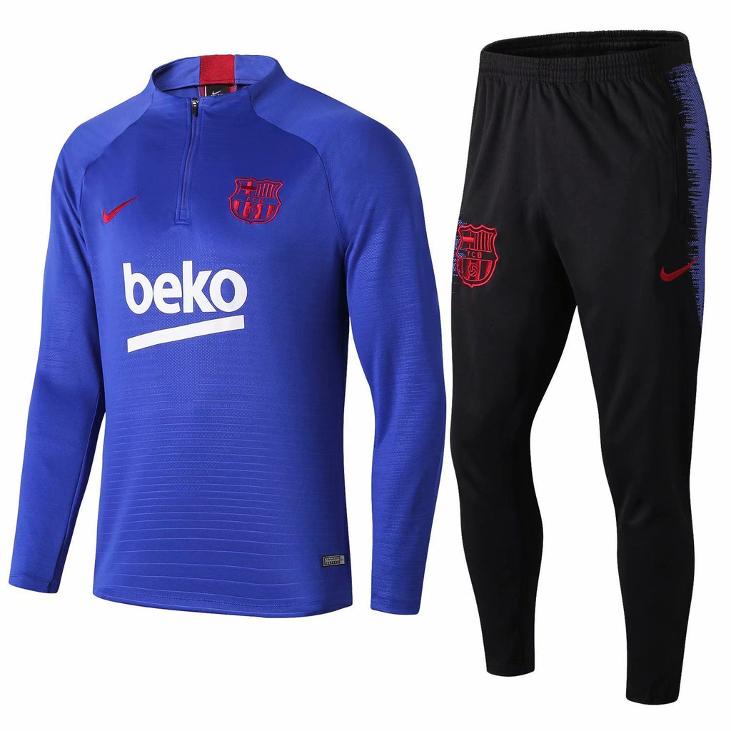 Barcelona Blue Training Suit 19 20 Season Training Suit sportifynow