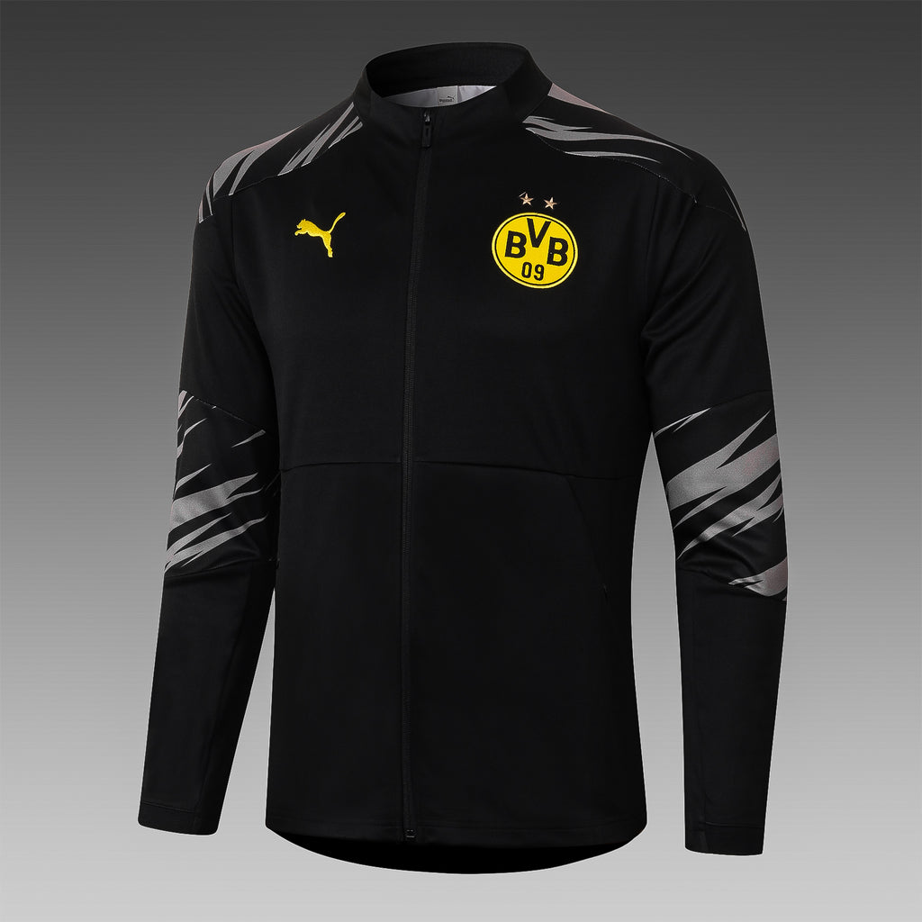 Borussia Dortmund Black Winter Jacket 20 21 Season