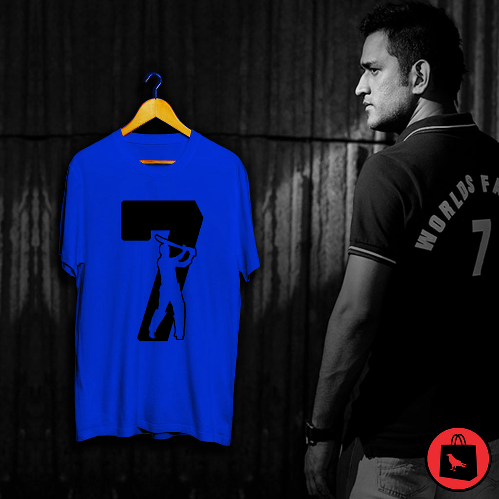 DHONI 7 Cricket T Shirt