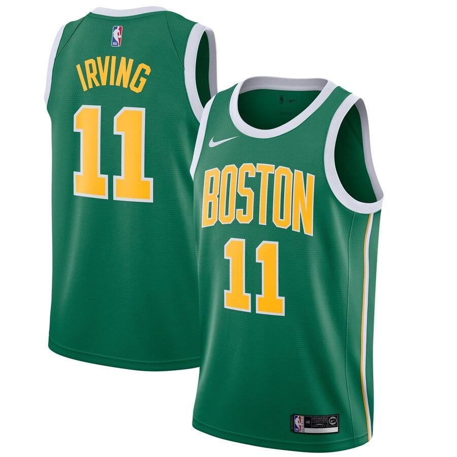 brand new 63f8c f4afe Boston Celtics Kyrie Irving Green NBA Jersey – sportifynow