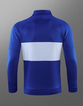 Chelsea Blue and White Winter Jacket 19 20 Season Sweater sportifynow