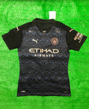 Manchester City PLAYER VERSION Football Jersey Away 20 21 Season [Sale Item]