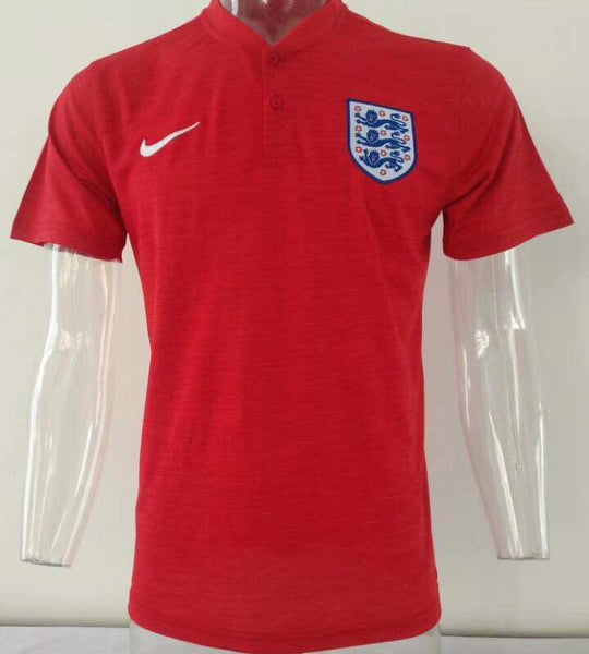 England Red Polo T-Shirt 2018