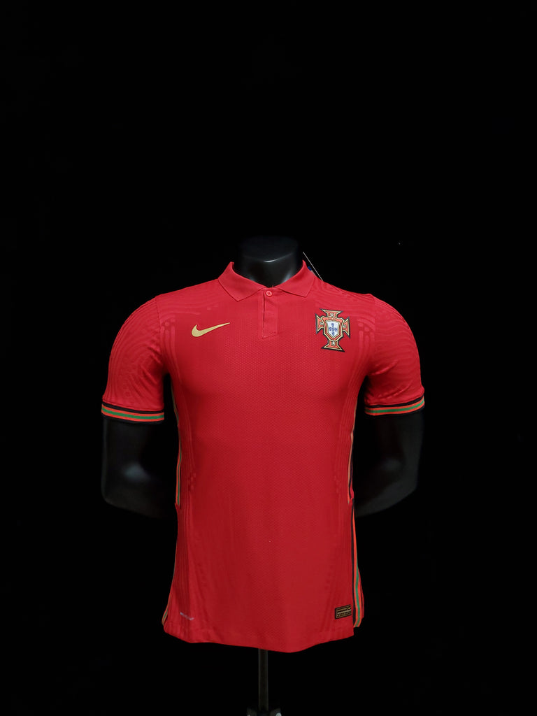Portugal PLAYER VERSION National Team Jersey Home-EURO CUP 2020