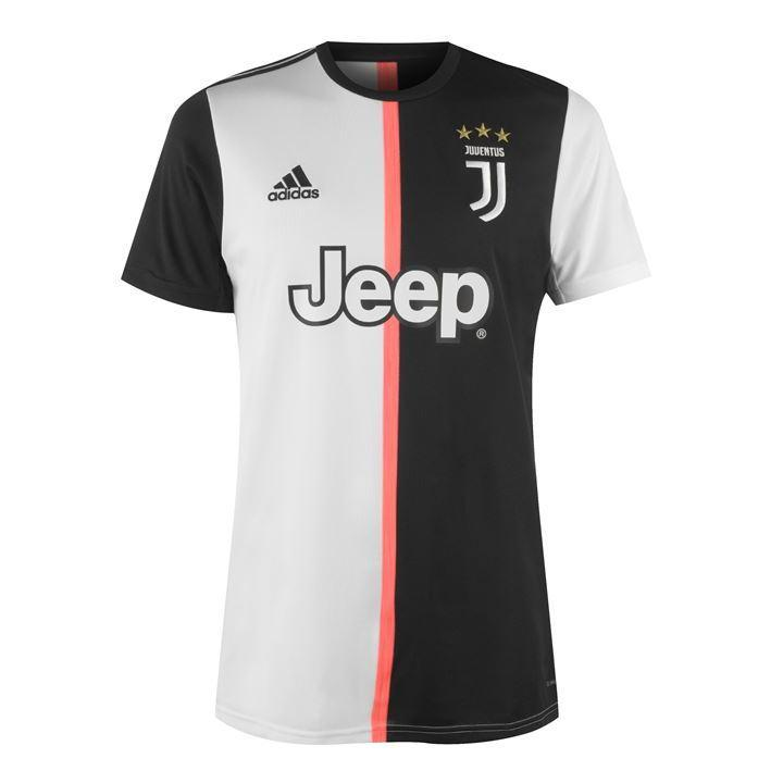 Juventus Football Jersey Home With Italia Patch 19 20 Season [Sale Item]