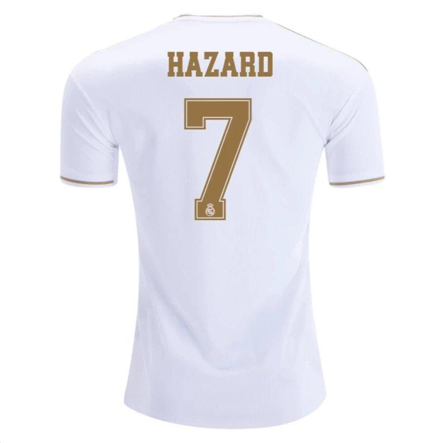 Real Madrid HAZARD 7 Football Jersey Home 19 20 Season [Sale Item] Jersey_NS sportifynow