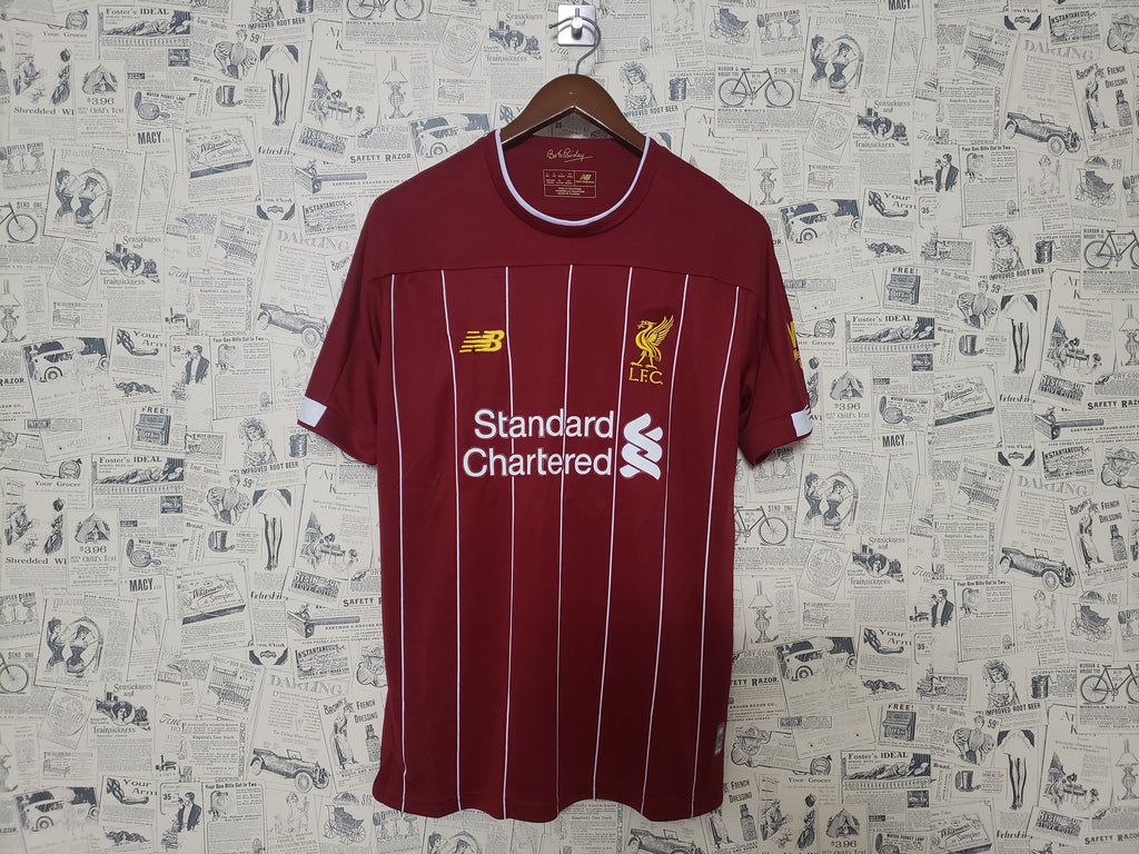 Liverpool Football Jersey Home 19 20 Season [Sale Item] Jersey_NS sportifynow