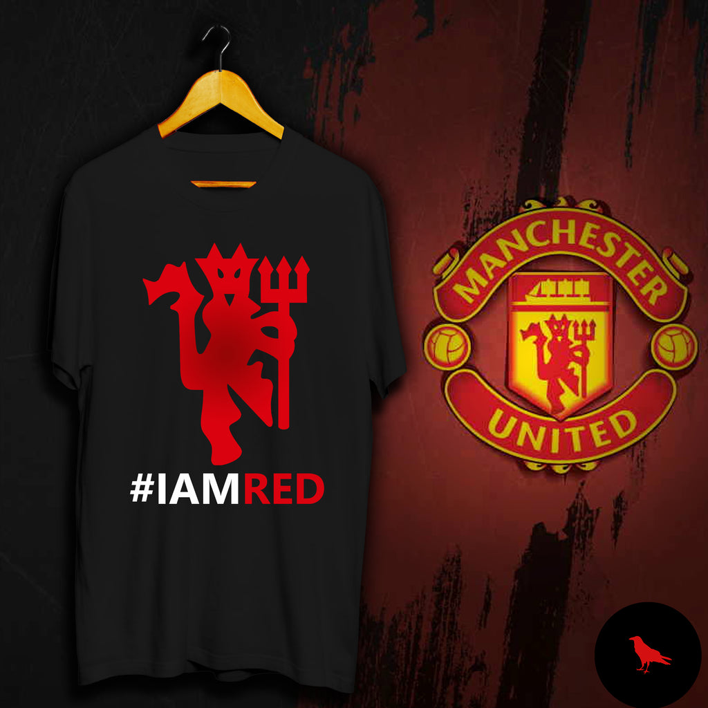 Manchester United I Am RED Football T Shirt