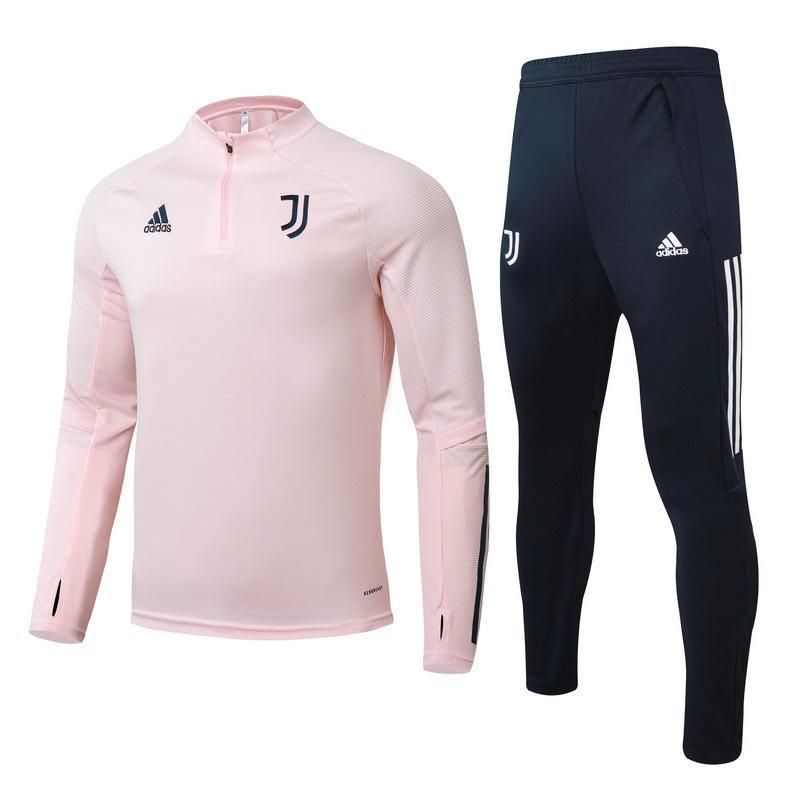Juventus Pink Training Suit 20 21 Season
