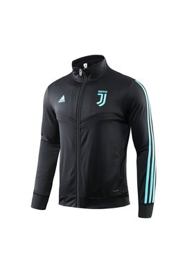 Juventus Grey With Blue Striped Jacket 19 20 Season[🔥CLEARANCE SALE🔥]
