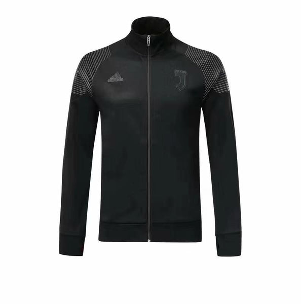 Juventus Full Black Winter Jacket 18 19 Season