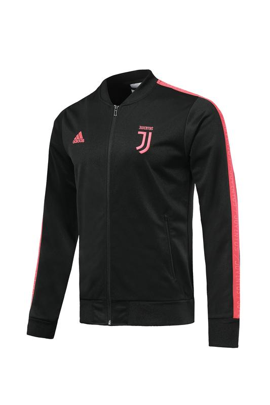 Juventus Black Hand Printed Jacket 19 20 Season Sweater sportifynow