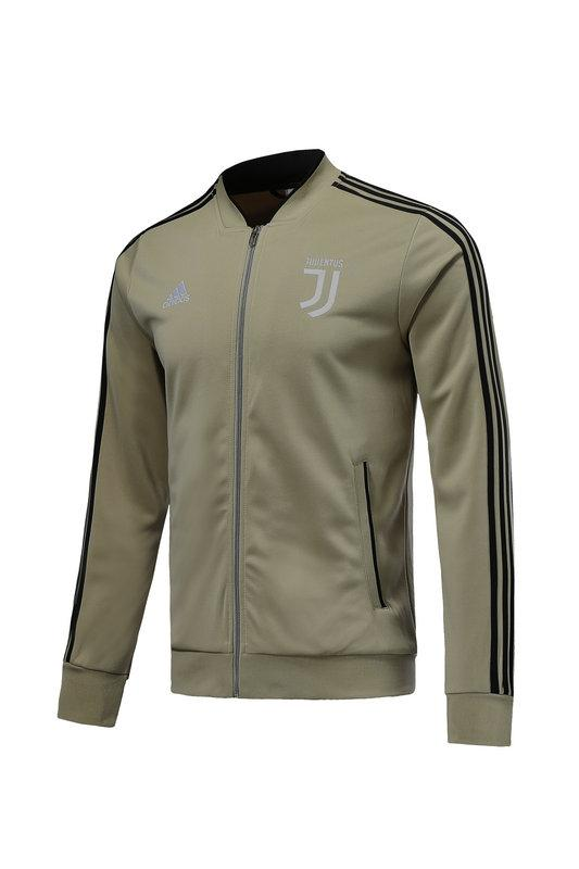 Juventus Khaki Winter Jacket 18 19 Season