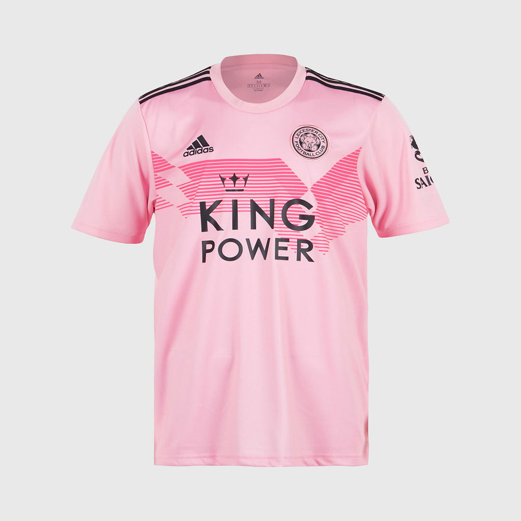Leicester City True Pink Football Jersey Away 19 20 Season