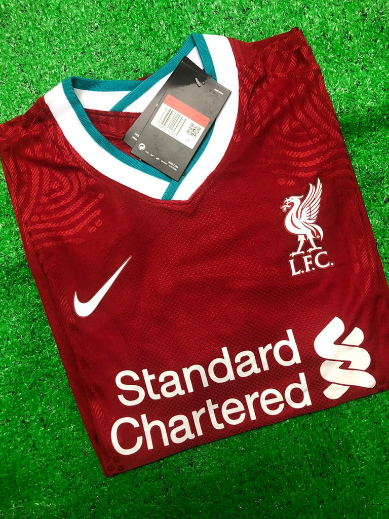 Liverpool PLAYER VERSION Football Jersey Home 20 21 Season [Sale Item]