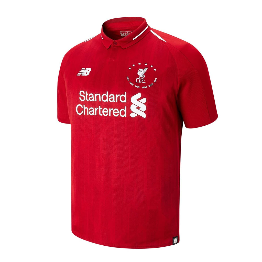 Liverpool 6 Times Home Jersey [Sale Item]
