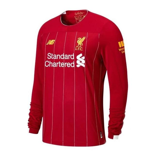 Liverpool Football Jersey Home FULL SLEEVE 19 20 Season [Sale Item]