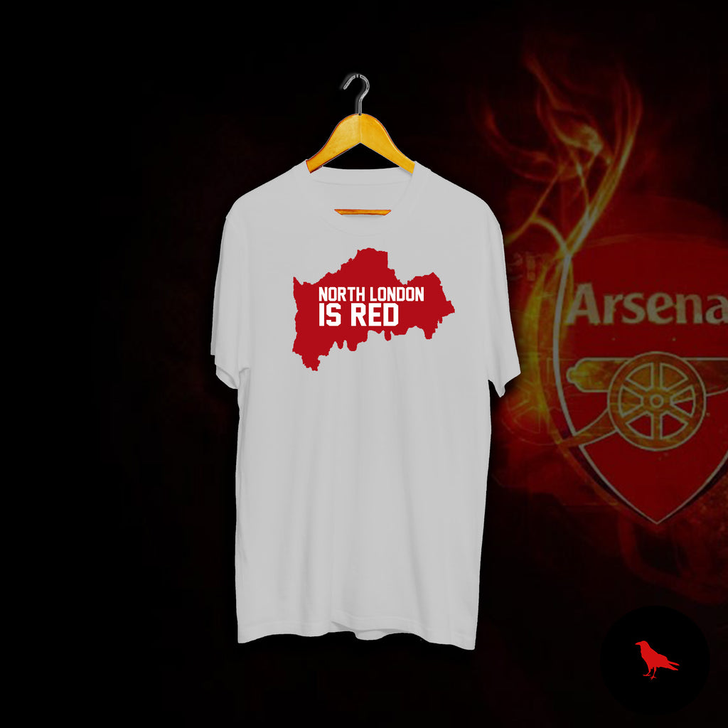 North London Is Red Football T Shirt
