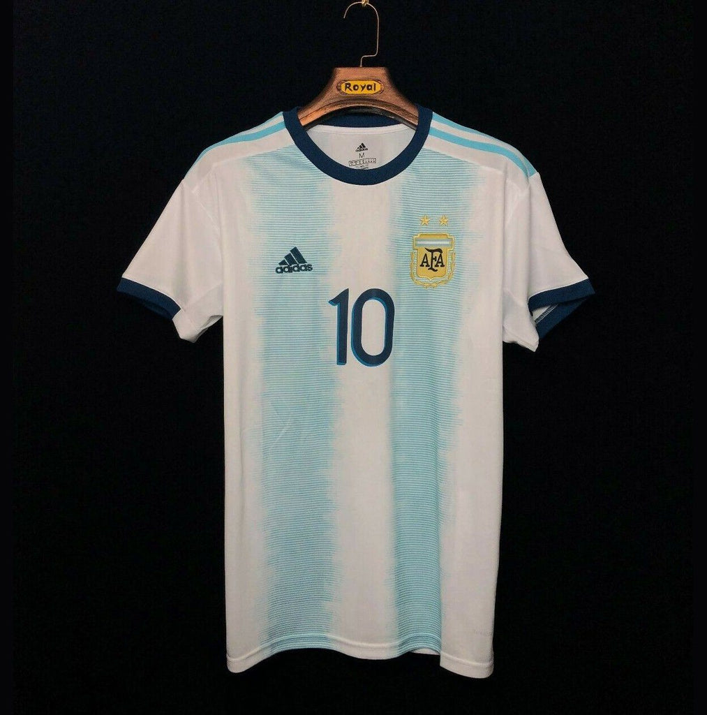 Argentina MESSI 10 Copa America Home Jersey [Sale Item] Jersey_NS sportifynow