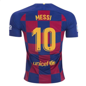 Barcelona MESSI 10 Football Jersey Home 19 20 Season [Sale Item] Jersey_NS sportifynow