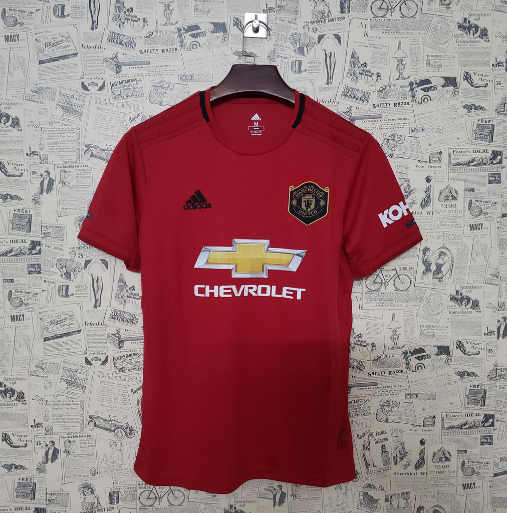 ManU Jersey Home 19 20 Season [Sale Item] Jersey_NS sportifynow