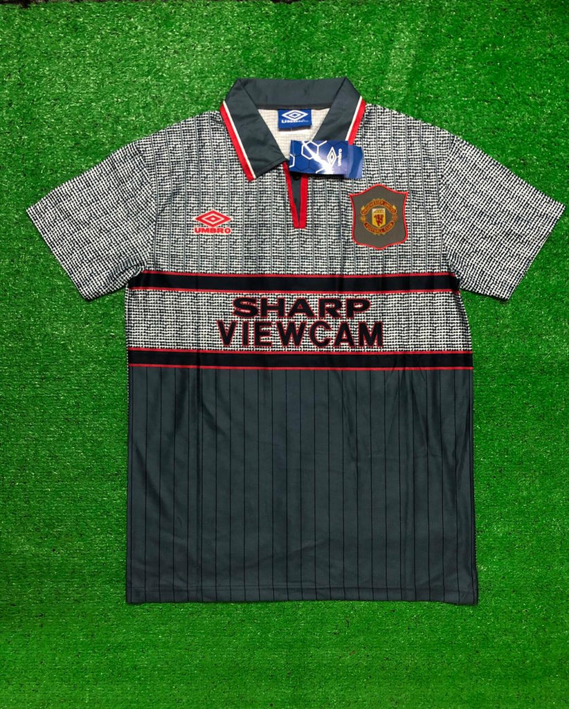 Manchester United 1995-96 Away CANTONA 7 Retro Jersey [Sale Item]