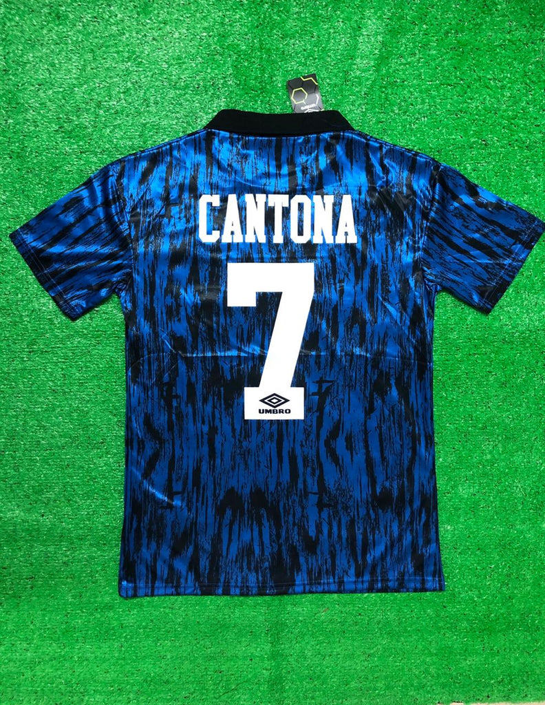 Manchester United 1992-93 Away CANTONA 7 Retro Jersey [Sale Item]