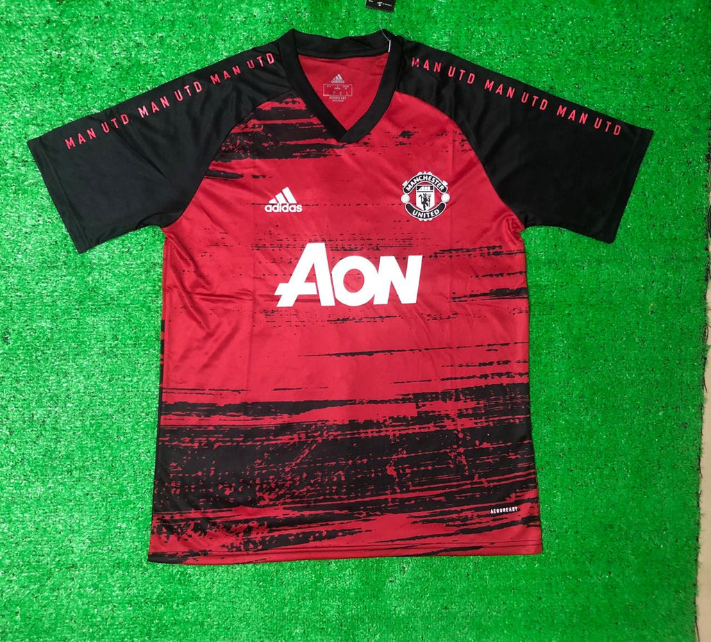 Manchester United Pre Match Jersey 20 21 Season [Sale Item]