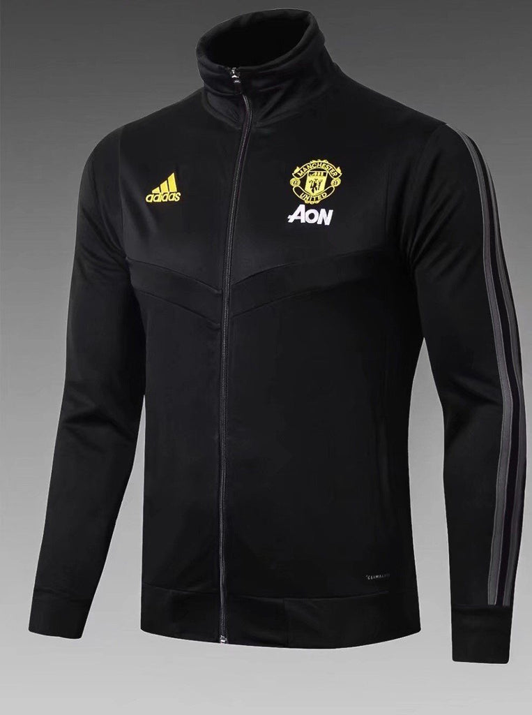 Manchester United Black Winter Jacket 19 20 Season Sweater sportifynow
