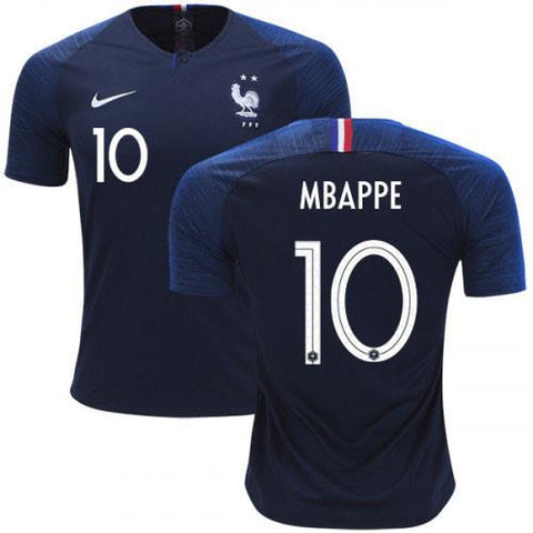 France MBAPPE 10 National Team Jersey Home-FIFA WC 2018