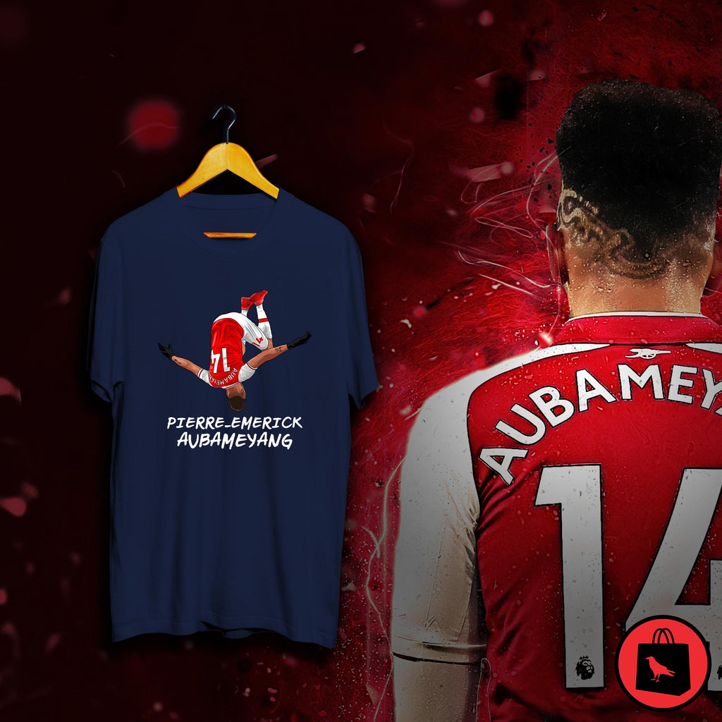 Aubameyang Flip Football T Shirt
