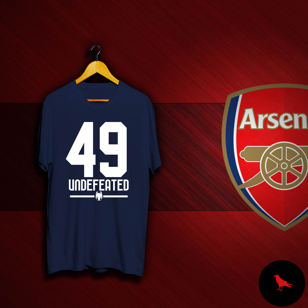 49 Undefeated Football T Shirt