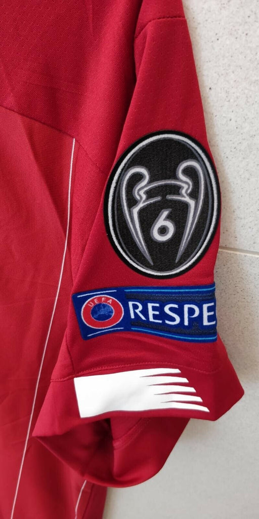 Liverpool CHAMPIONS OF EUROPE Football Jersey Home With UCL Patch 19 20 Season [Sale Item] Jersey_NS sportifynow