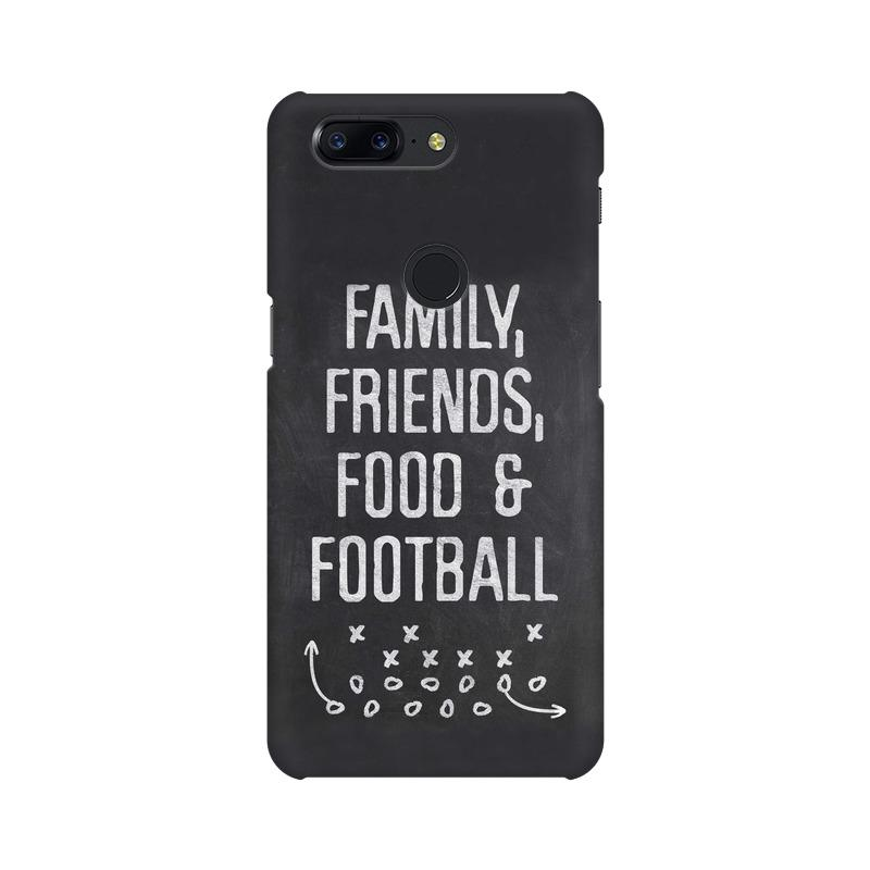 Family Friends Food Football Phone Case[Available For 90+ Phone Models] Phone Case printrove OnePlus 5T