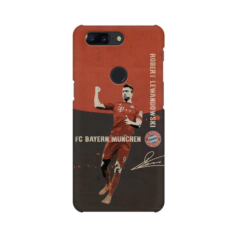 Lewandowski Bayern Phone Case[Available For 90+ Phone Models] Phone Case printrove OnePlus 5T