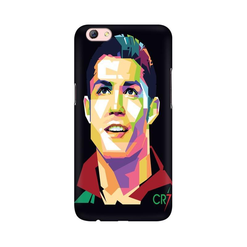 Cristiano Ronaldo CR7 Phone Case[Available For 90+ Phone Models] Phone Case printrove Oppo F3 Plus
