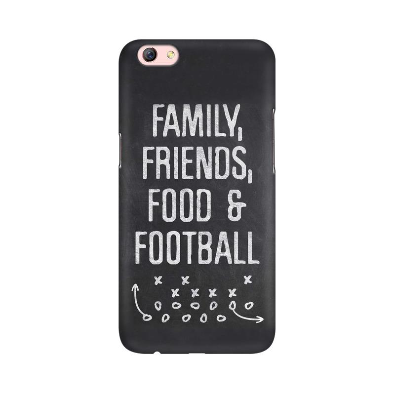 Family Friends Food Football Phone Case[Available For 90+ Phone Models] Phone Case printrove Oppo F3 Plus